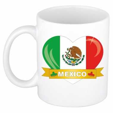 Mexicaanse i love mexico mok beker 300 ml