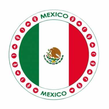 Mexicaanse mexico thema bierviltjes