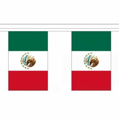 Mexicaanse  Polyester Mexico vlaggenlijn