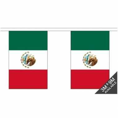 Mexicaanse stoffen vlaggenlijn mexico 3 meter