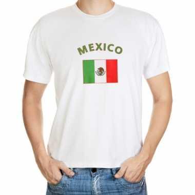 Mexicaanse vlag t-shirt