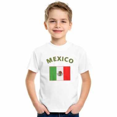 Mexicaanse vlag t-shirts voor kinderen